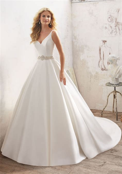 Bridal Gowns by Maribella Wedding Dress Style 8123 Morilee
