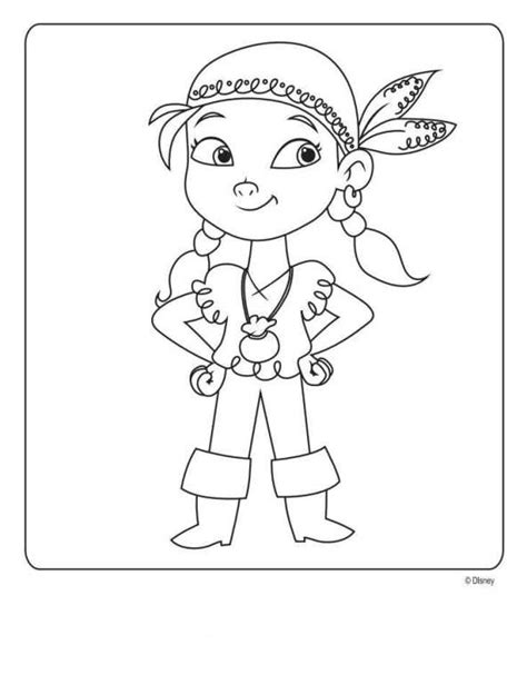kids n fun com coloring page jake and the never land