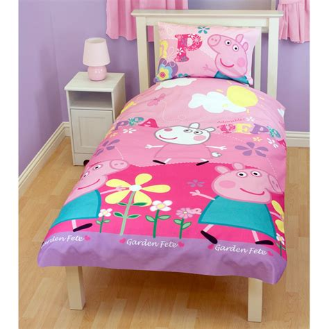 Peppa Pig Bed Quilt Cover by Peppa Pig Single Duvet Cover Adorable New Bedding Ebay