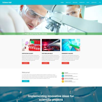 blogger templates for hospital science lab templates templatemonster