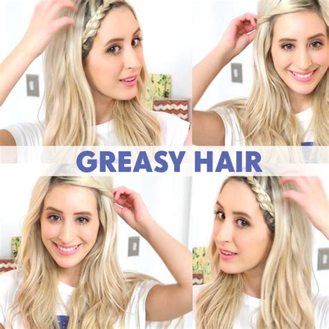 greasy hair fix hairstyles bad hair day quick fixes hair extensions blog hair