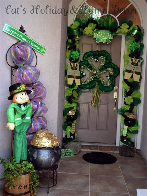 st patrick s day home decorations st patrick s day door decorations shut the front door