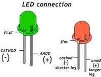 led diode connection light emitting diodes led