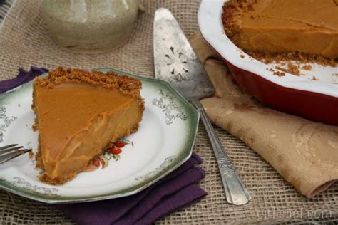 coconut sweet potato pie w spiced graham cracker crust she made ella hace all roads lead