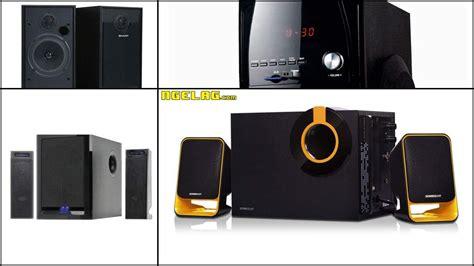 harga speaker aktif terbaik  murah  ngelagcom