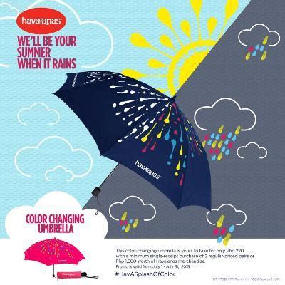 havaianas umbrella promo | philippine contests and promos