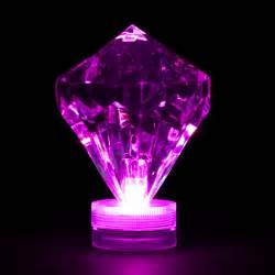purple submersible diamond led light