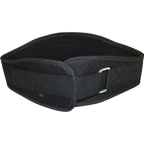 fitness belt supporting weightlifter belt polyester black