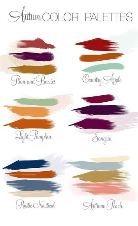 fall color schemes 25 best ideas about fall wedding colors on pinterest