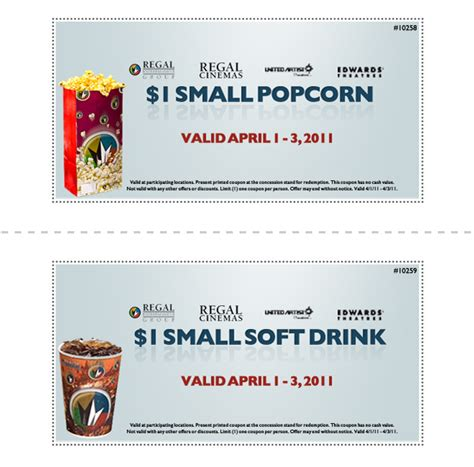 cineplex food coupons image gallery movie theater popcorn coupon