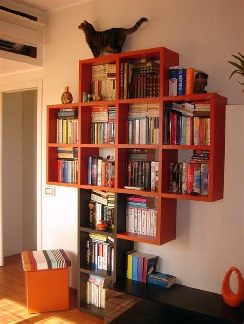 awesome bookshelf design and graphics