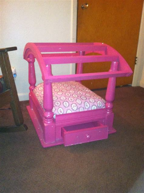bed end tables old end table made into dog bed must pinterest dog beds old end tables and beds