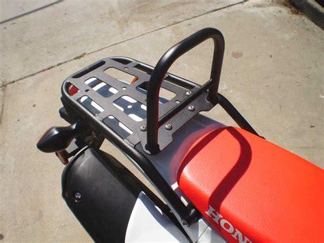 Crf250l Rack by Crf 250l Rear Luggage Rack W Removable Sissy Bar Honda