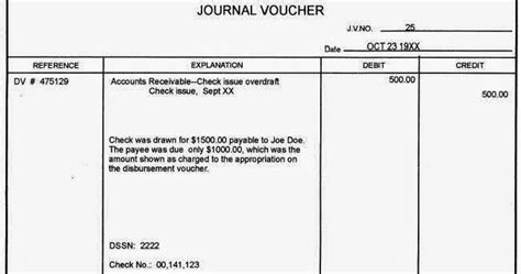 template of journal voucher what is journal voucher accounting journal voucher