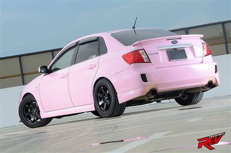 pink subaru wrx get pinked subaru impreza 4dr 2 5 wrx sti