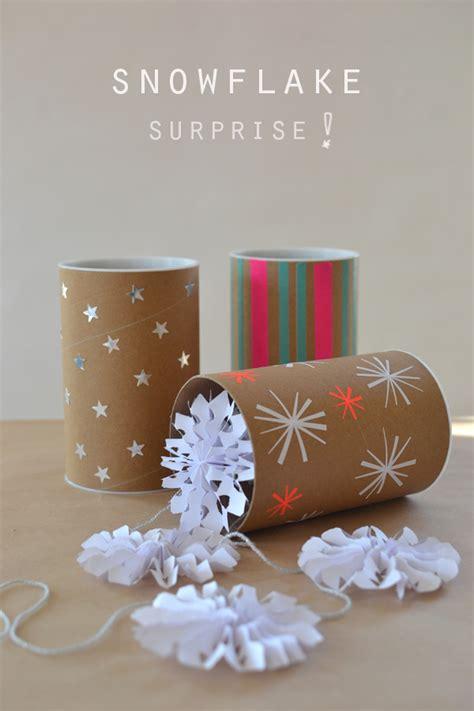 Handmade Garland - handmade paper snowflake garland artbar