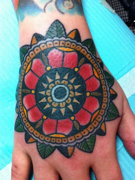 collection of 25 lovely traditional mandala flower tattoo