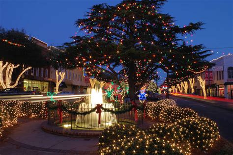 10 christmas towns near asheville nc