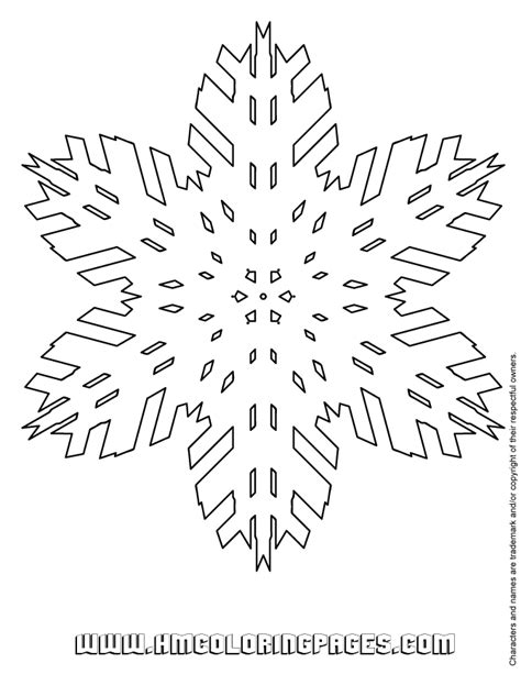 giant snowflake coloring page snowflake activities coloring page h m coloring pages