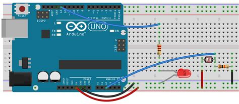 arduino resistor array 6 4 analog read and a photoresistor high school maker