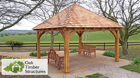 gazebo uk solid oak gazebos oak timber structures