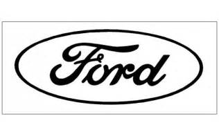 Graphic Express  Ford Oval Logo Decal Open Style 6 Tall sketch template