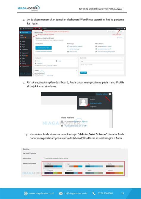 tutorial dreamweaver untuk pemula niagahoster tutorial wordpress untuk pemula part 1