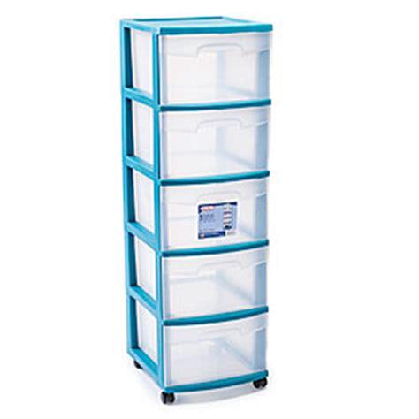 sterilite teal 5 drawer cart big lots