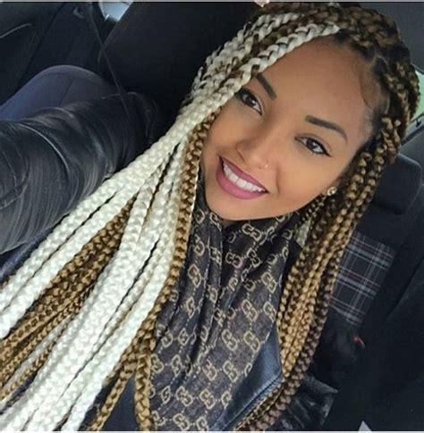 big braids hairstyles in nigeria 20 gorgeous big box braided hairstyles with photos