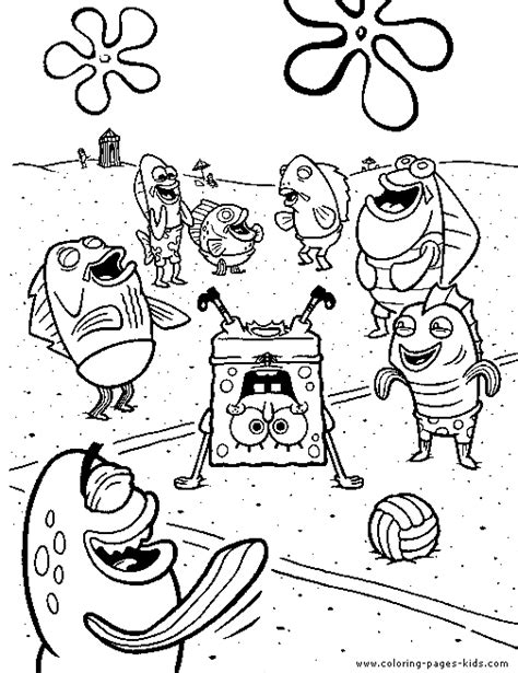 spongebob squarepants characters coloring pages coloring pages