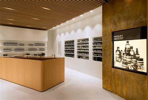 store layout elements aesop elements shop hong kong knstrct
