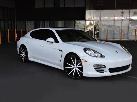 white porsche panamera white on white porsche panamera by wheel service
