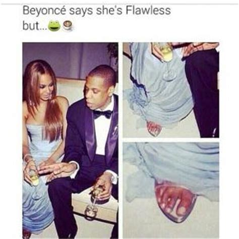 Ugly Feet Meme - beyonce funny pictures kappit