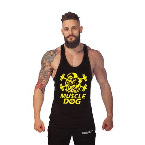 Singlet Fitness Leave Me Size M 2015 new sport tops cotton vest gasp shirt sleeveless singlet fitness tank top