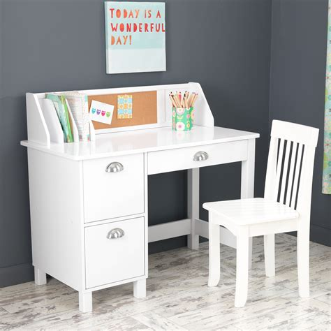 kidkraft avalon desk with hutch avalon desk with hutch and chair white hostgarcia