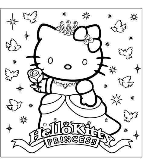 hello kitty devil coloring pages imageslist com hello kitty for coloring part 4