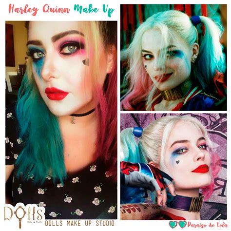 imagenes de niñas suicidas maquillaje harley quinn