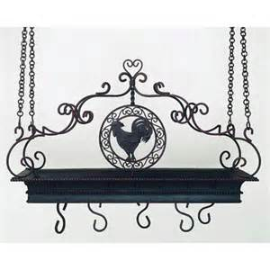 Rooster Pot Rack Country Iron Rooster Pot Rack Hairstyles