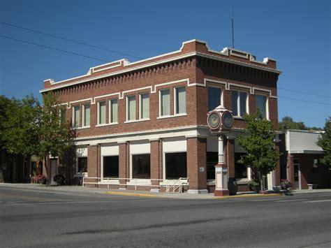 Roof by File Okanogan Wa Commercial Building Jpg Wikimedia