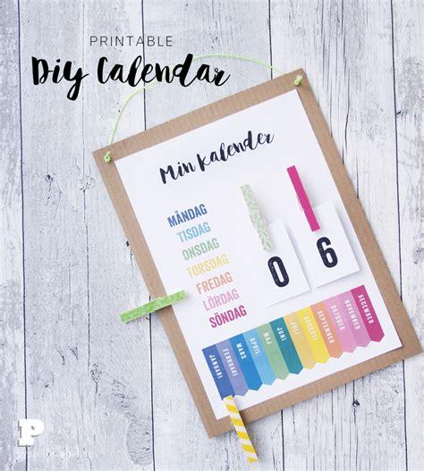 design egen kalender pyssla en egen kalender pysselbolaget