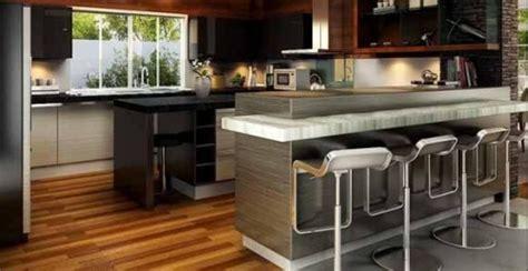desain meja bartender menata ruang tamu agar terlihat lebih rapi dan indah