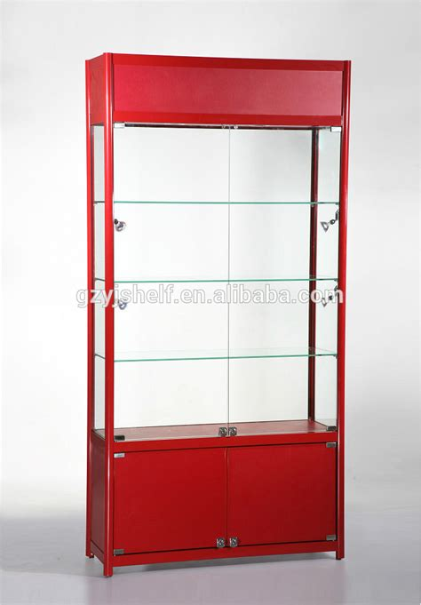 wall display cabinets for collectibles boutique store