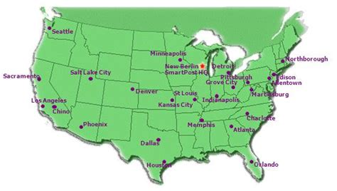 sectional center facility map weird fedex shipping routes to small towns rural and