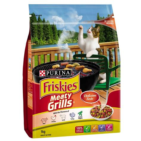 Friskies 3 Kg Meaty Grills purina friskies meaty grill pets mall