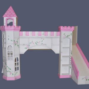 princess bunk bed castle castle beds