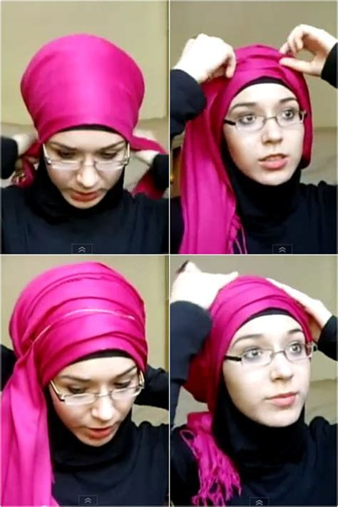 tutorial hijab turban pesta pernikahan tutorial hijab turban simple untuk ke pesta pernikahan