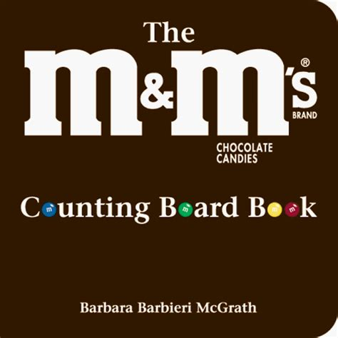 Counting Board Book the m m s brand chocolate candies counting board book