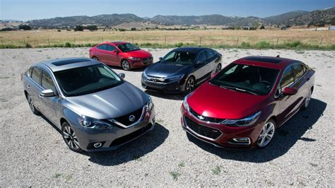compact cars 2016 compact car comparison civic takes on cruze elantra
