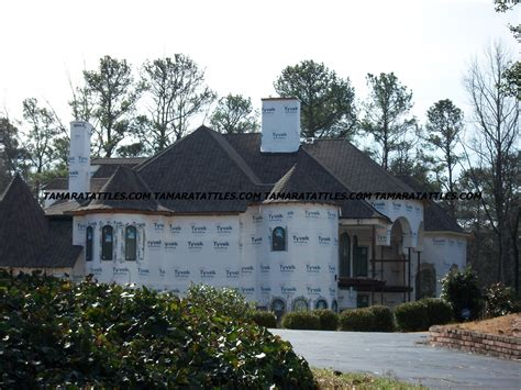 dubrow chateau work has resumed on chateau sheree