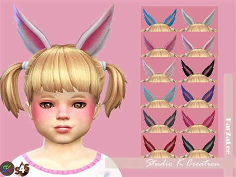 St Bunny Kid Cc rabbit ears for toddler at studio k creation 187 sims 4 updates